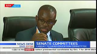 Senators Moses Kajwang' and Mithika Linturi elected to lead the Senate County Public Accounts Commit