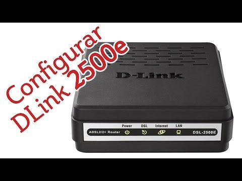 Como Configurar o Modem DSL 2500E operadora OI