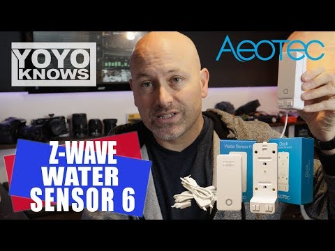 Smart Home Automation with a Z-Wave Water Sensor from Aeotec