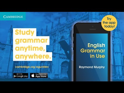 Vídeo do English Grammar in Use