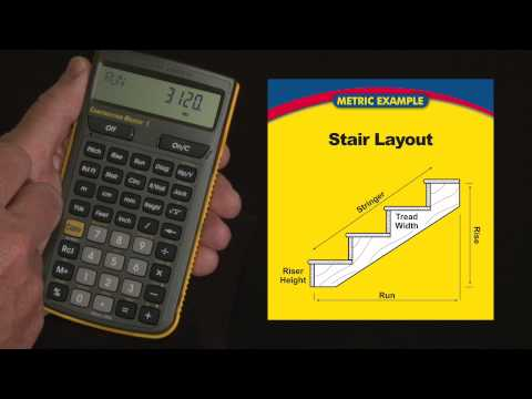 Construction Master 5 - Stair Layout Calculations