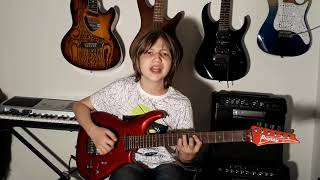 "Dustin Tomsen 14 yr old covers Deep Purple ""Sometimes I feel like Screaming"""