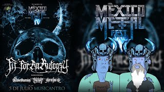 FIT FOR AN AUTOPSY en Monterrey | Black Metal Mvffin