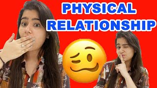 Talking about Physical Relationship before marriage.