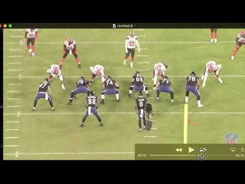 Ravens Final Two Plays v. Browns
