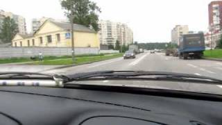 Разворот через главную дорогу