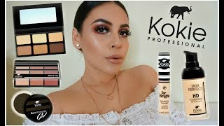 FULL FACE USING ONLY KOKIE COSMETICS: DRUGSTORE MAKEUP TUTORIAL | JuicyJas