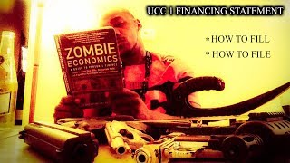 HOW TO FILL AND FILE YOUR UCC 1 FINANCING STATEMENT!