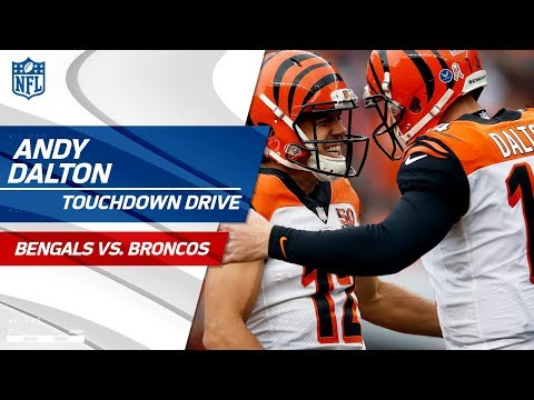 Andy Dalton's Perfect Strikes on TD Drive to Take the Lead! | Bengals vs. Broncos | NFL Wk 11
