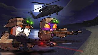 Modern Warfare...NAVY SEAL MISSION! (Minecraft)