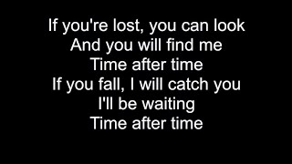 TIME AFTER TIME   HD With Lyrics   CYNDI LAUPER cover by Chris Landmark
