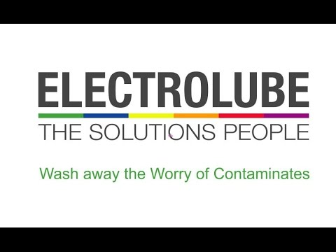 Electrolube Electronics and General Purpose Cleaning