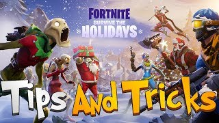 FORTNITE - 10 Survive The Holidays Tips And Tricks (How To Skip Days And Frozen Thing Location)