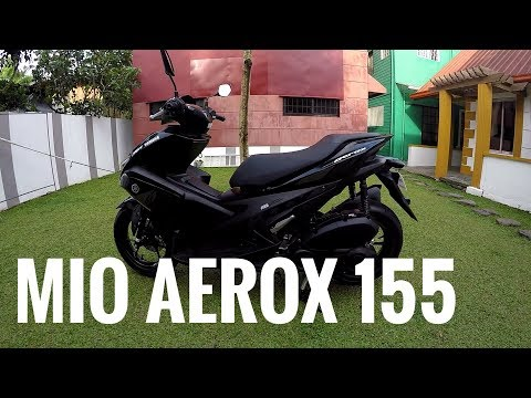 Yamaha Aerox 155 Review Features - Philippines