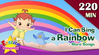 Tôi có thể hát một cầu vồng + More Nursery Rhymes | 50 bài hát cho trẻ em