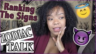 MY FAVOURITE/LEAST FAVOURITE SIGNS + WHY!!   Zodiac Talk