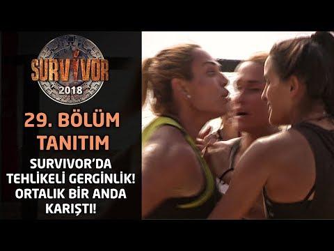 Survivor'da Tehlikeli Gerginlik! Ortalık Bir Anda Karıştı...  -  29. Bölüm Tanıtımı  -  Survivor 2018