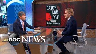 Ronan Farrow on Harvey Weinstein, Matt Lauer l ABC News