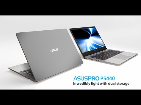 ASUSPRO Business Laptops P5440 - Incredibly light with dual storage | ASUS