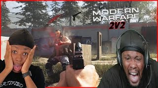 The Shot That He Never Saw Coming! (Call of Duty 2v2)