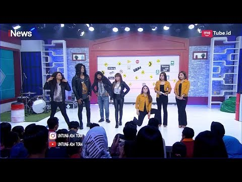 Ditantang Dinar Candy, Trio Macan Keluarkan Jurus Goyangan yang Bikin Gerah Part 02 - UAT 12/04