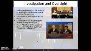 Legislative Branch Powers