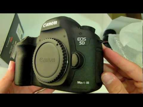 Unboxing Canon EOS 5D Mark III - Kit Lens 24 -105