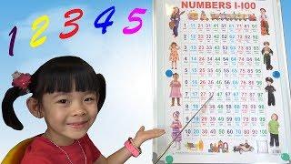 Bé Học Đếm Bảng Chữ Số Tiếng Việt Từ 0 – 100 ❤ AnAn ToysReview TV ❤
