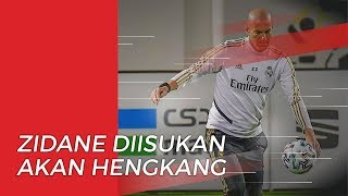 Zinedine Zidane Diisukan Akan Meninggalkan Real Madrid karena Hal Ini