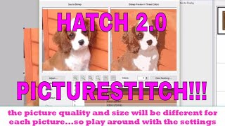 HATCH EMBROIDERY FREE TUTORIAL: Learn to digitize fonts and
