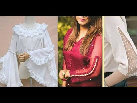 New Trendy and Useful Sleeves Designs 2019 For Summer Kurtis / Frock and Top