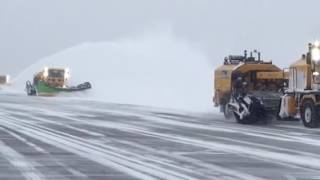M-B Companies - Airport Maintenance Products - Heavy Snow in Worcester, MA