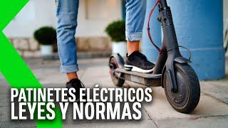 PATINETES ELÉCTRICOS: TODO sobre las LEYES de CIRCULACIÓN de los VMP