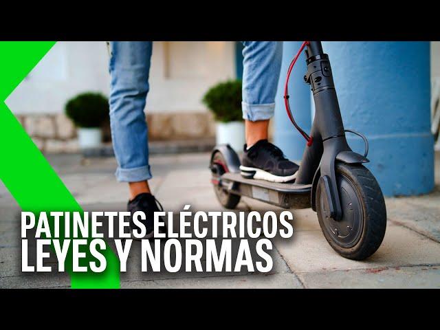 PATINETES ELÉCTRICOS: TODO sobre la LEY en ESPAÑA de CIRCULACIÓN de los VMP