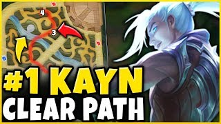 *NEW PATH* #1 KAYN STRATEGY = FREE WINS (LITERAL FREELO)   League Of Legends