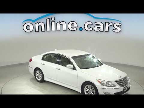 Pre-Owned 2013 Hyundai Genesis 3.8