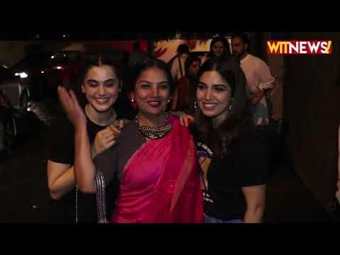 Saand Ki Aankh Movie Special Screening | Taapsee Pannu, Bhumi Pednekar, Neha Dhupia