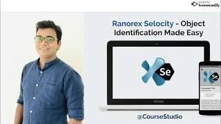 Locators || Object Identification Tool for Selenium - Ranorex Selocity