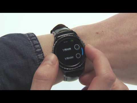Samsung Gear S2: Displayeinstellungen