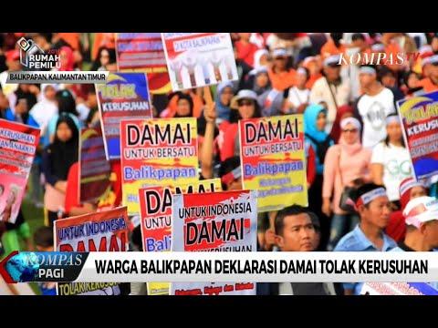 Warga Deklarasikan Tolak Kekerasan Jelang Putusan MK