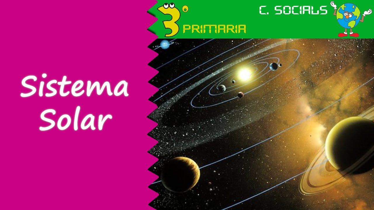 Ciències Socials. 3r Primària. Tema 7. El Sistema Solar