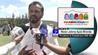 Estamos con un proyecto de luminarias ecológicas: Héctor Johnny Ayala Miranda