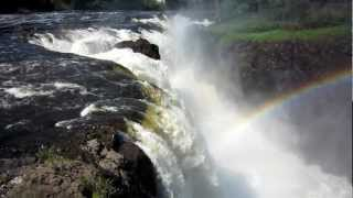 preview picture of video 'Great Falls of Passaic River, Paterson NJ'