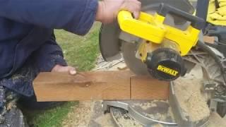 Crazy Way of Cutting 4x4 Lumber