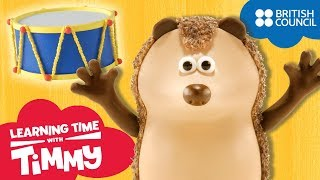 Loud and Quiet   Learning Time with Timmy   Learn Sounds for Kids   Full Episodes