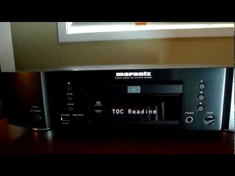 Marantz SA8004 SACD Player Overview