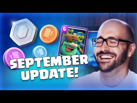 Clash Royale: September Update Reveal! (TV Royale)