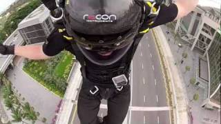 Jeb Corliss jumps Marina Bay Sands