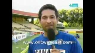 Sachin Discloses His Strategy To Ian Chappell.avi