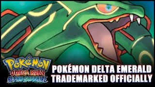 """Pokémon Delta Emerald"" trademarked! Emerald remake confirmed? (Omega Ruby/Alpha Sapphire news)"